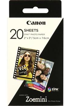 Papier photo instantané Canon 20 feuilles ZOEmini
