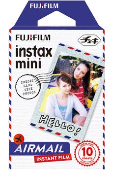 Papier photo instantané FILM INSTAX MINI AIRMAIL Fujifilm