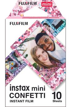 Papier photo instantané Fujifilm Film Instax Mini Monopack Confetti (10v)