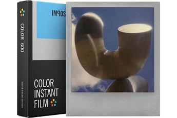 Papier photo instantané FILM COULEUR CADRE ARGENT 4527 Impossible