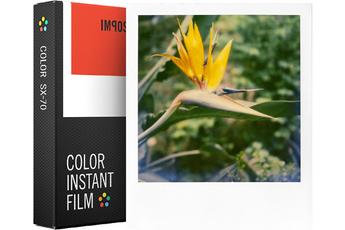 Papier photo instantané FILM COULEUR CADRE BLANC 4512 Impossible