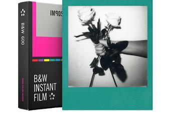 Papier photo instantané FILM NOIR ET BLANC CADRE COULEUR 4523 Impossible