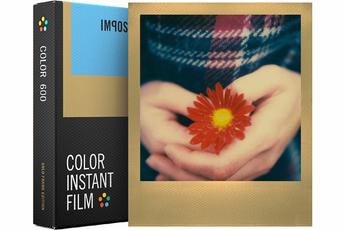 Papier photo instantané FILM COULEUR CADRE OR 4526 Impossible