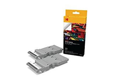 Kodak Cartouche et papier PMC20 pour imprimante Mini Printer PM-210 - 20 photos