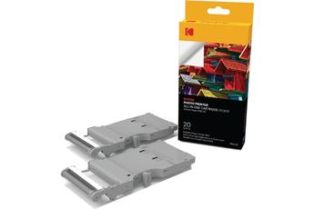 Papier photo instantané Cartouche et papier PMS20 pour imprimante Mini Printer PM-210 - 20 stickers Kodak