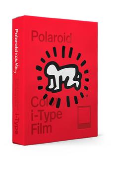 Papier photo instantané Polaroid Films couleur pour appareils i-Type - Edition Keith Haring 2021 - 8 photos