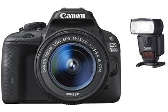 Reflex EOS 100D + 18-55 IS STM + Canon SPEEDLITE 430EX II Canon