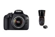 Canon 1200D+18-55+70-300