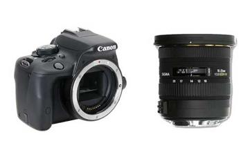Reflex EOS 100D NU + SIGMA 10-20 MM F3,5 EX DC HSM Canon
