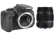 Canon EOS 700D NU + SIGMA 18-250 MACRO DC OS