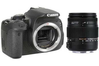Reflex EOS 700D NU + SIGMA 18-250 MACRO DC OS Canon