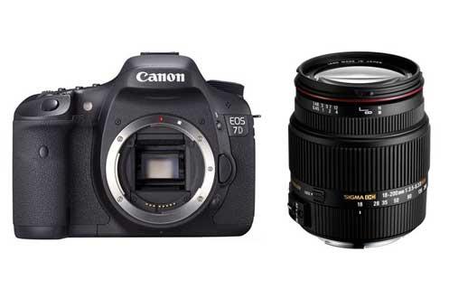 EOS 7D NU + SIGMA 18-200 F3.5-6.3II DC OS HSM Canon