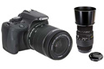 Canon EOS 100D + 18-55 IS STM + Sigma 70-300mm F4-5.6 DG Macro pour Canon photo 1