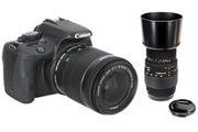Canon Canon EOS 100D + 18-55 IS STM + Sigma 70-300mm F4-5.6 DG Macro pour Canon
