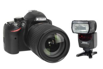 Reflex Nikon D3200+18-105VR + SB 700 Nikon