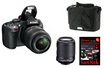Nikon D5100 DOUBLE KIT+ETUI+CARTE photo 1