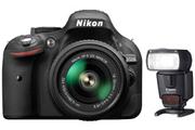 Nikon D5200+18-55+FLASH