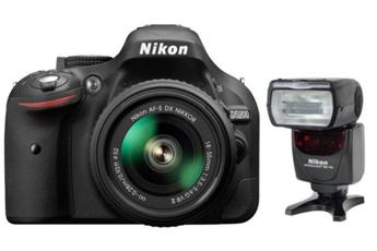Reflex Nikon D5200+18-55VR+FT+SD8 + SB 700 Nikon