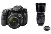 Sony SLT A58K + 18-55 MM + SIGMA 70-300 MM F4-5,6 DG