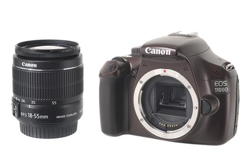 Reflex EOS 1100D 18-55II IS CHOCOLAT Canon