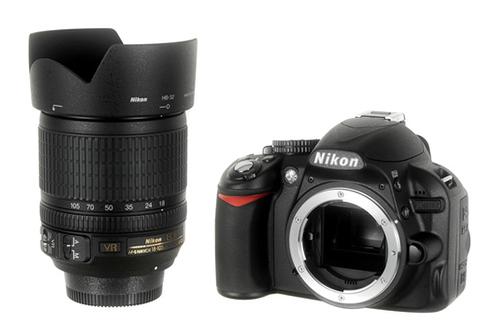 Nikon D3100 +18-105 VR
