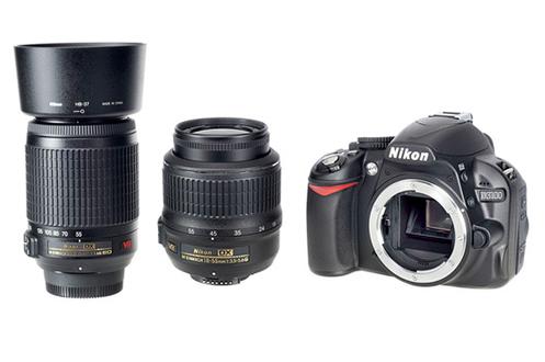 Nikon D3100+18-55VR+55-200VR