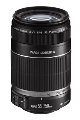 Objectif photo EF-S 55-250mm f/4-5.6 IS Canon