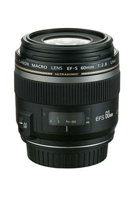 Objectif photo EF-S 60mm F/2.8 Macro USM Canon