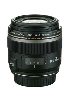 Objectif photo EF-S 60mm F/2.8 Macro USM Canon