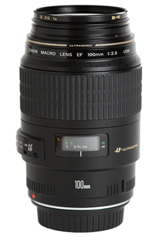 Objectif photo EF 100mm f/2.8 Macro USM Canon