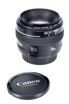 Objectif photo EF 50mm f/1.4 USM Canon