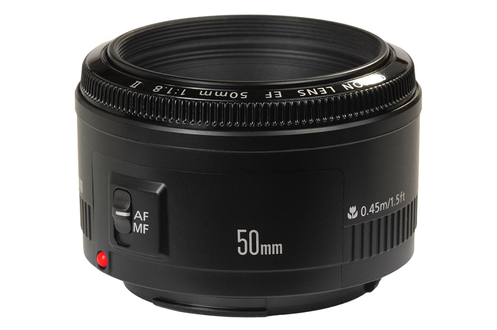 Objectif photo Canon EF 50mm f/1.8 II