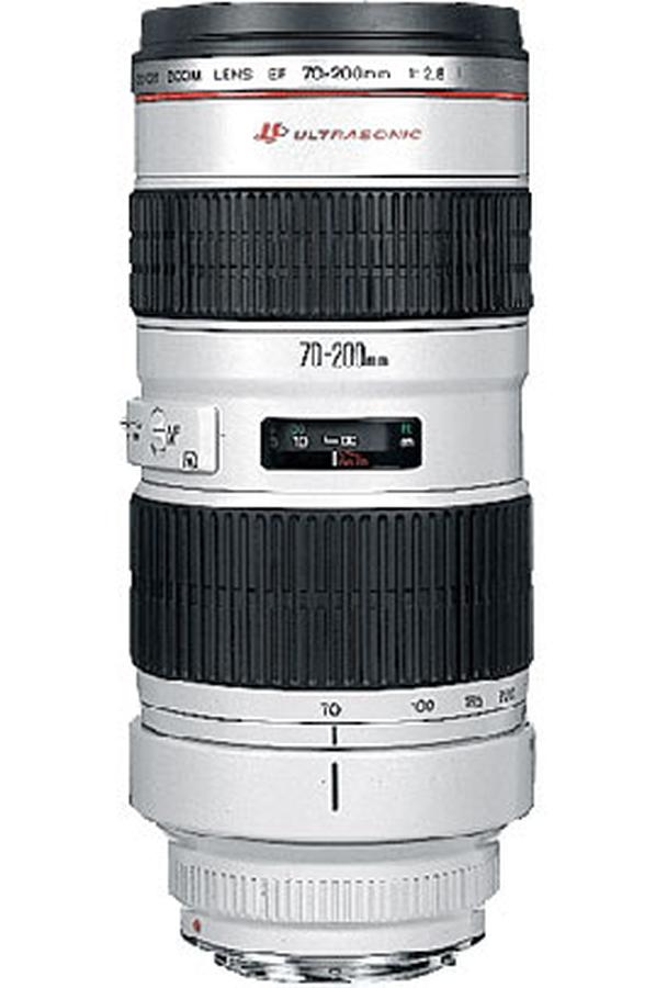 objectif photo canon ef 70 200mm f 2 8l usm 2434601 darty