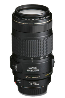 Objectif photo EF 70-300mm f/4-5.6 IS USM Canon