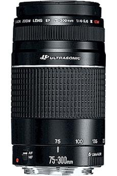 Objectif photo EF 75-300 F 4-5,6 III USM Canon