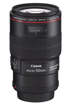 Objectif photo EF 100mm f/2.8L Macro IS USM Canon
