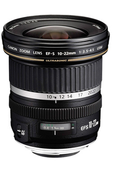 Objectif photo EF-S 10-22mm f/3.5-4.5 USM Canon