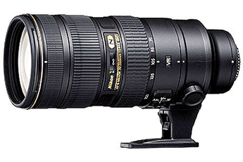 Objectif photo AF-S NIKKOR 70-200mm f/2.8G ED VR Ⅱ Nikon