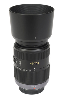 Objectif photo Lumix G Vario 45-200mm f/4-5.6 Mega O.I.S Panasonic