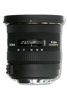 Objectif photo 10-20mm F3,5 DC EX Nikon Sigma