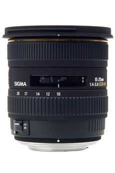 Objectif photo 10-20mm F4-5.6 EX DC Canon Sigma