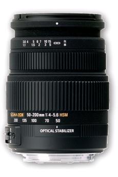 Objectif photo 50-200MM DCOS HSM N Sigma