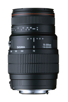70-300mm F4-5 6 DG APO Macro Nikon