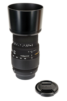 Objectif photo 70-300 mm F4-5.6 DG Macro Nikon Sigma