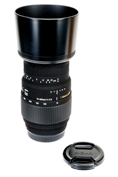 Objectif photo 70-300 mm F4-5.6 DG Macro Sony Sigma