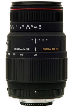 70-300mm 4-5 6 APO DG Macro Canon
