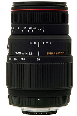 objectif photo sigma 70 300mm 4 5 6 apo dg macro canon 508927 darty