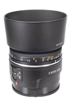 Objectif photo SAL-85F28 F2,8 SAM Sony