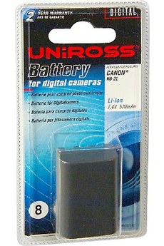 Batterie appareil photo NB-2L Uniross