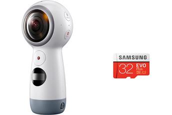 Caméra 360 NEW GEAR 360 + MICROSD 32Go Samsung